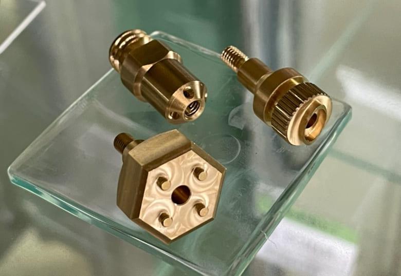 野村精機,真鍮(C3604),切削加工製品